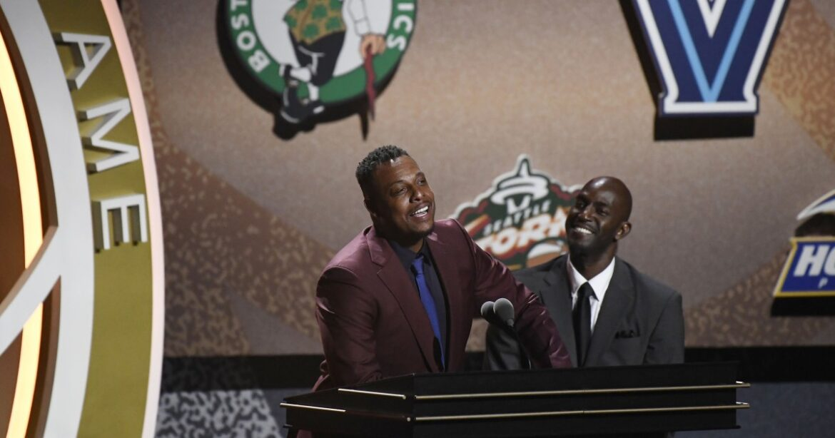 Paul Pierce reminds the teams that passed on his Hall-of-Fame ability