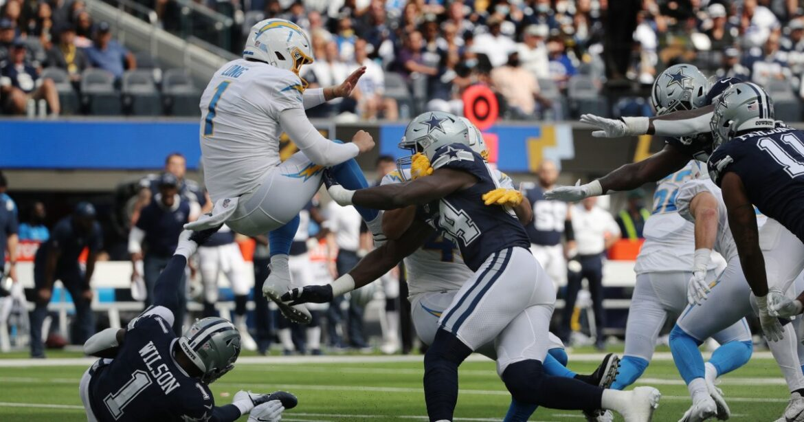 Photos: Chargers lose to Dallas Cowboys in home opener at SoFi Stadium