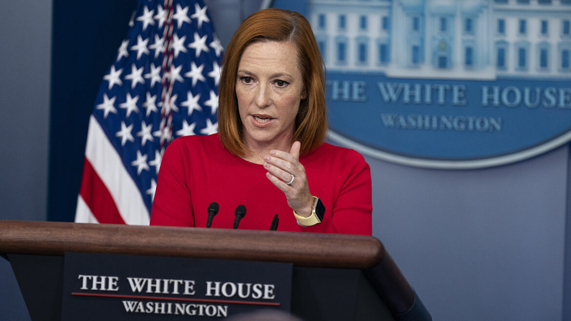 Psaki claims military advisers were 'split' on troops in Afghanistan, despite Milley testimony
