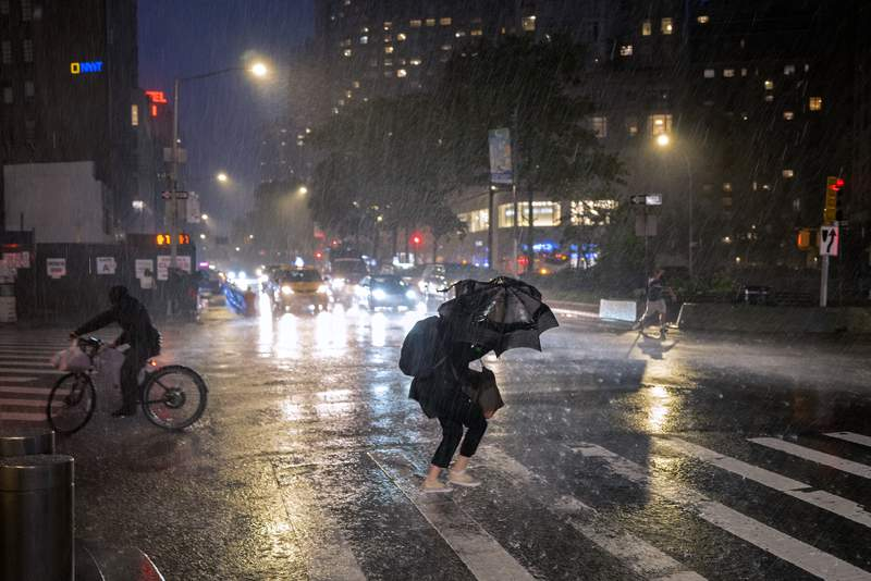 At least 8 deaths as Hurricane Ida's remnants hit Northeast