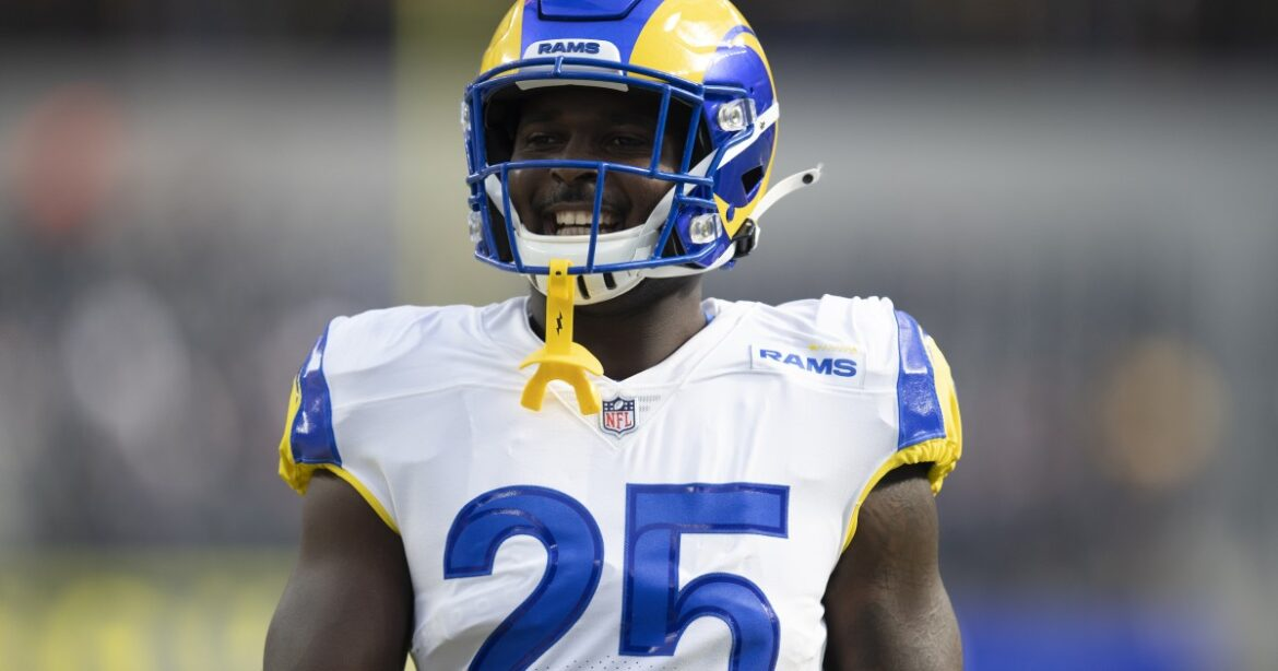 Rams' Sony Michel is fine waiting for opportunity to get in the running