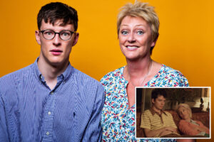 Man hosts real-life 'Sex Education' podcast with an expert: his mom