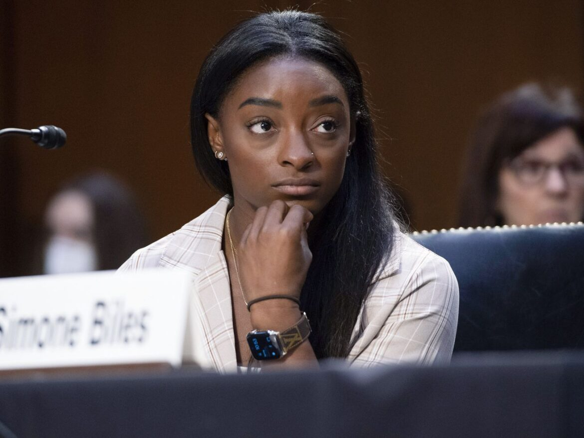 Simone Biles says FBI turned 'blind eye' to reports of sexual abuse