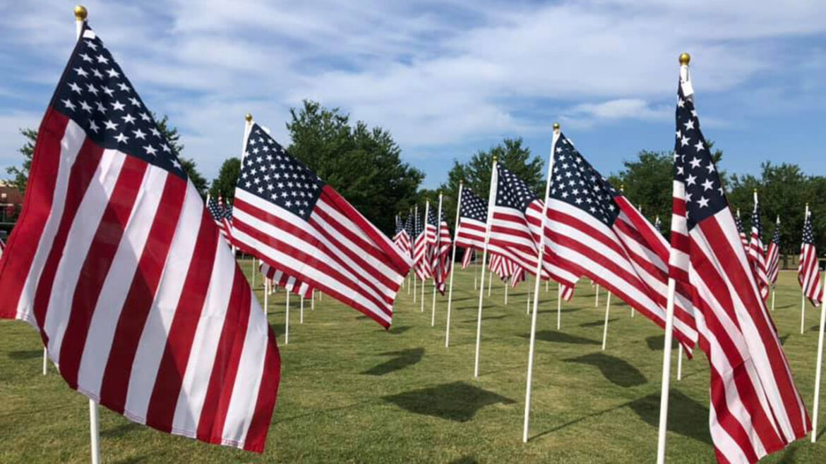 St. Louis' Forest Park honors thousands of 9/11 heroes with 'Flags of Valor' display