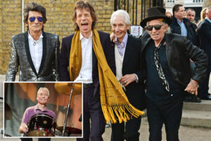 Rolling Stones' Mick Jagger on loss of Charlie Watts: 'He held the band together for so long'