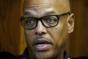 Black Iowa police chief faces backlash after bringing change