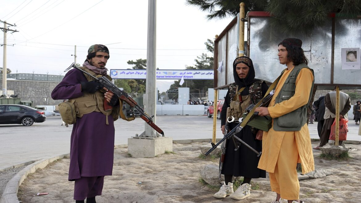 Taliban claims they've taken control of last area held by resistance fighters