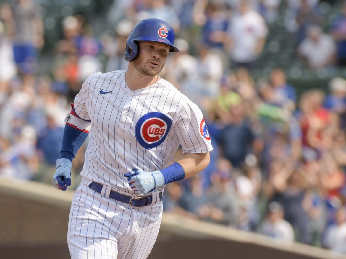 The decision that helped ignite Ian Happ's surge at the plate