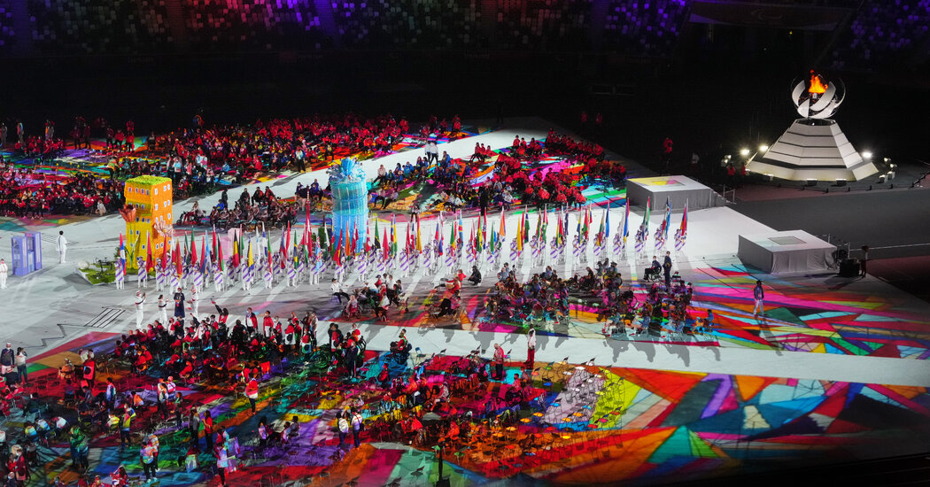 The Moving Moments as the Paralympics Ended