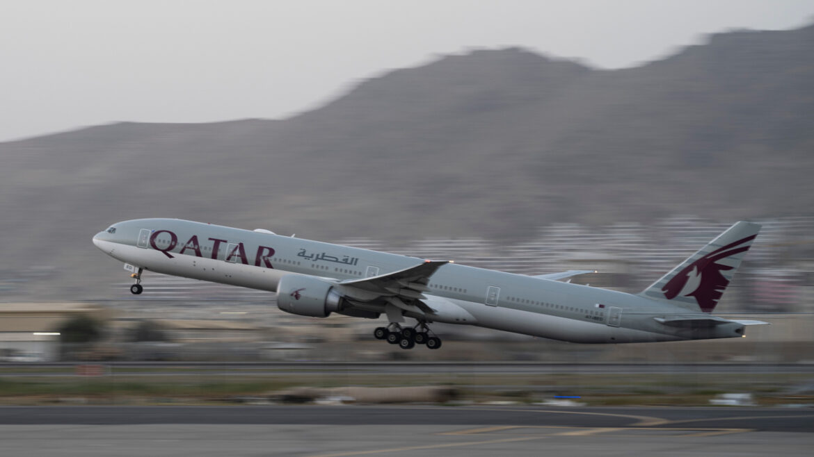 Third plane out of Afghanistan with Americans on board lands in Doha