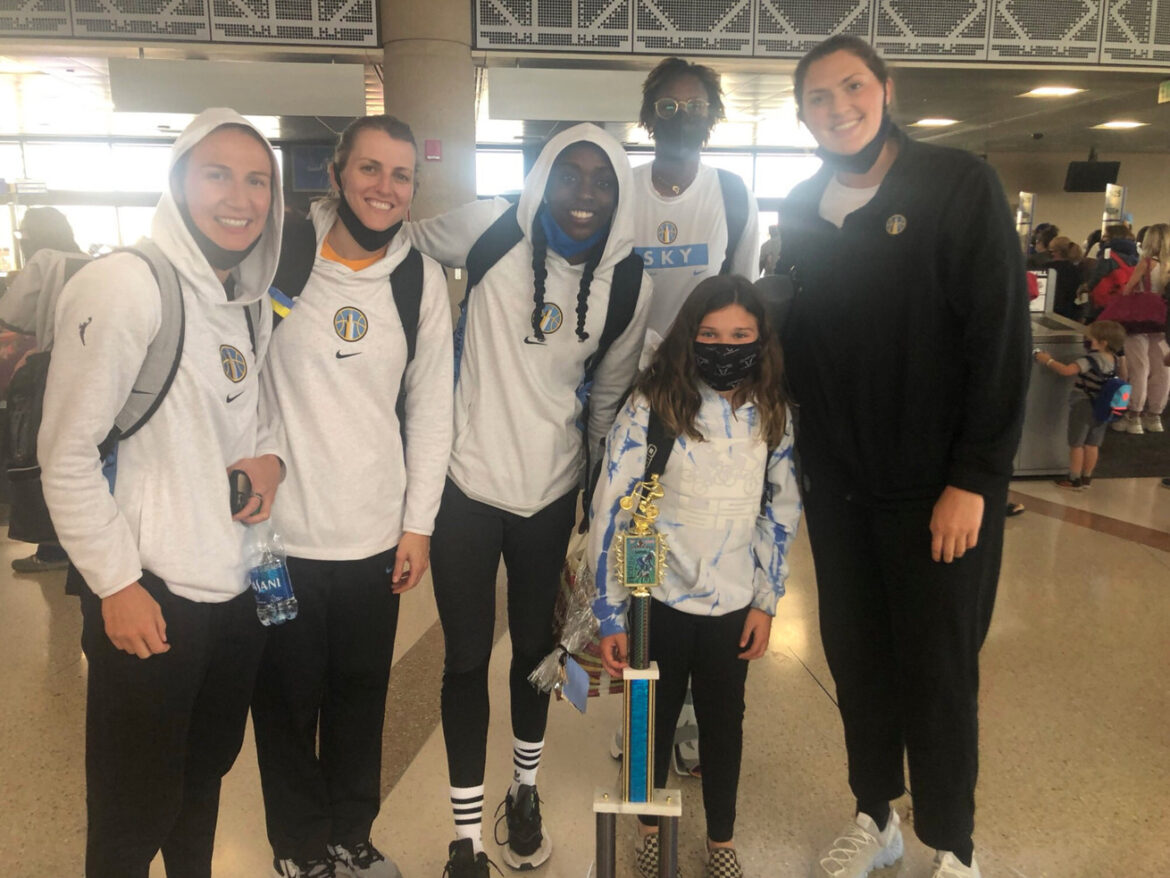 Travel continues to be an issue in the WNBA except when chance encounters are involved