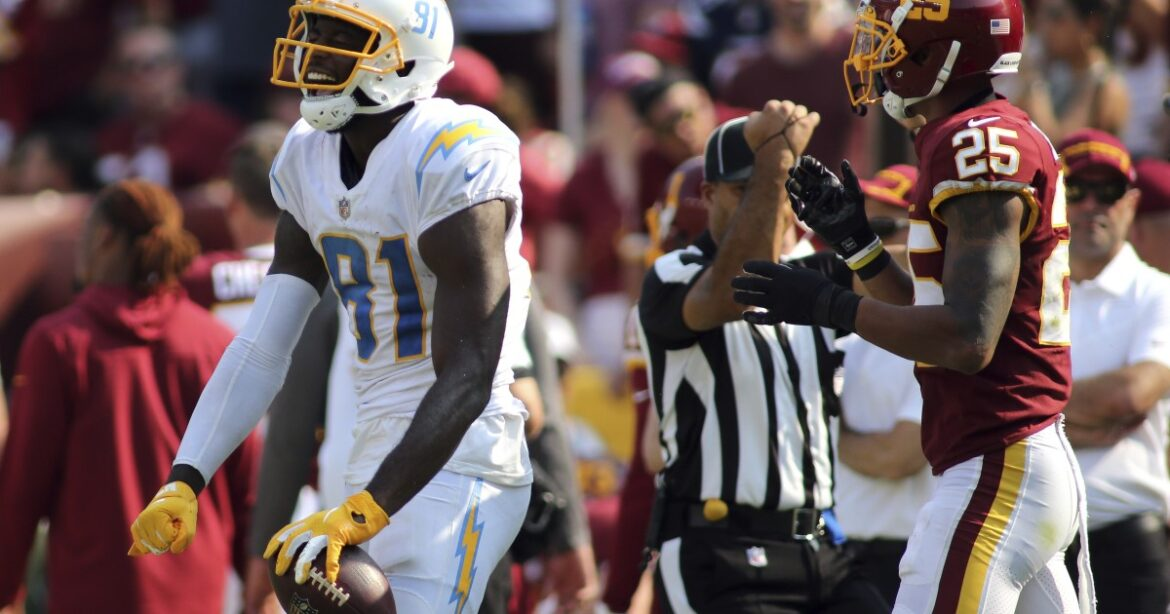What we learned from Chargers' 20-16 victory at Washington: Michael Williams a catch