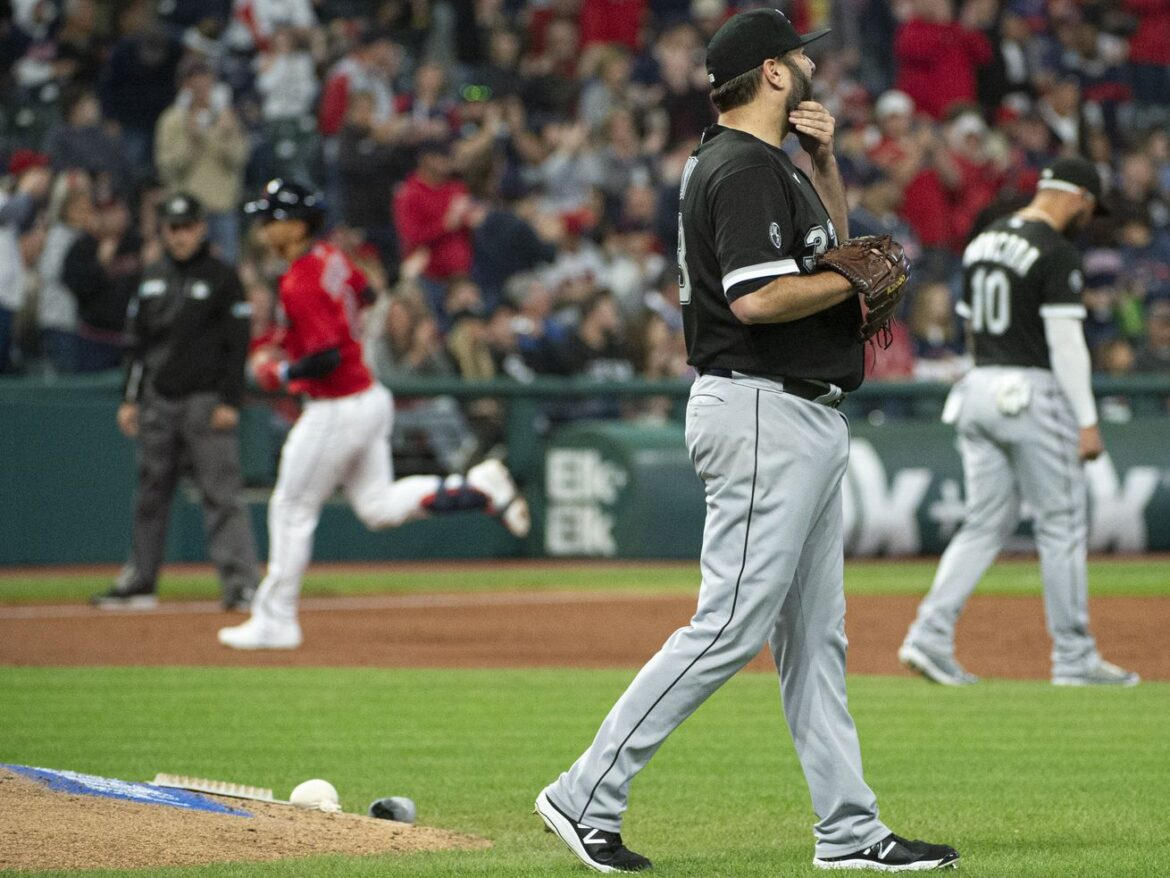 White Sox blanked by Indians