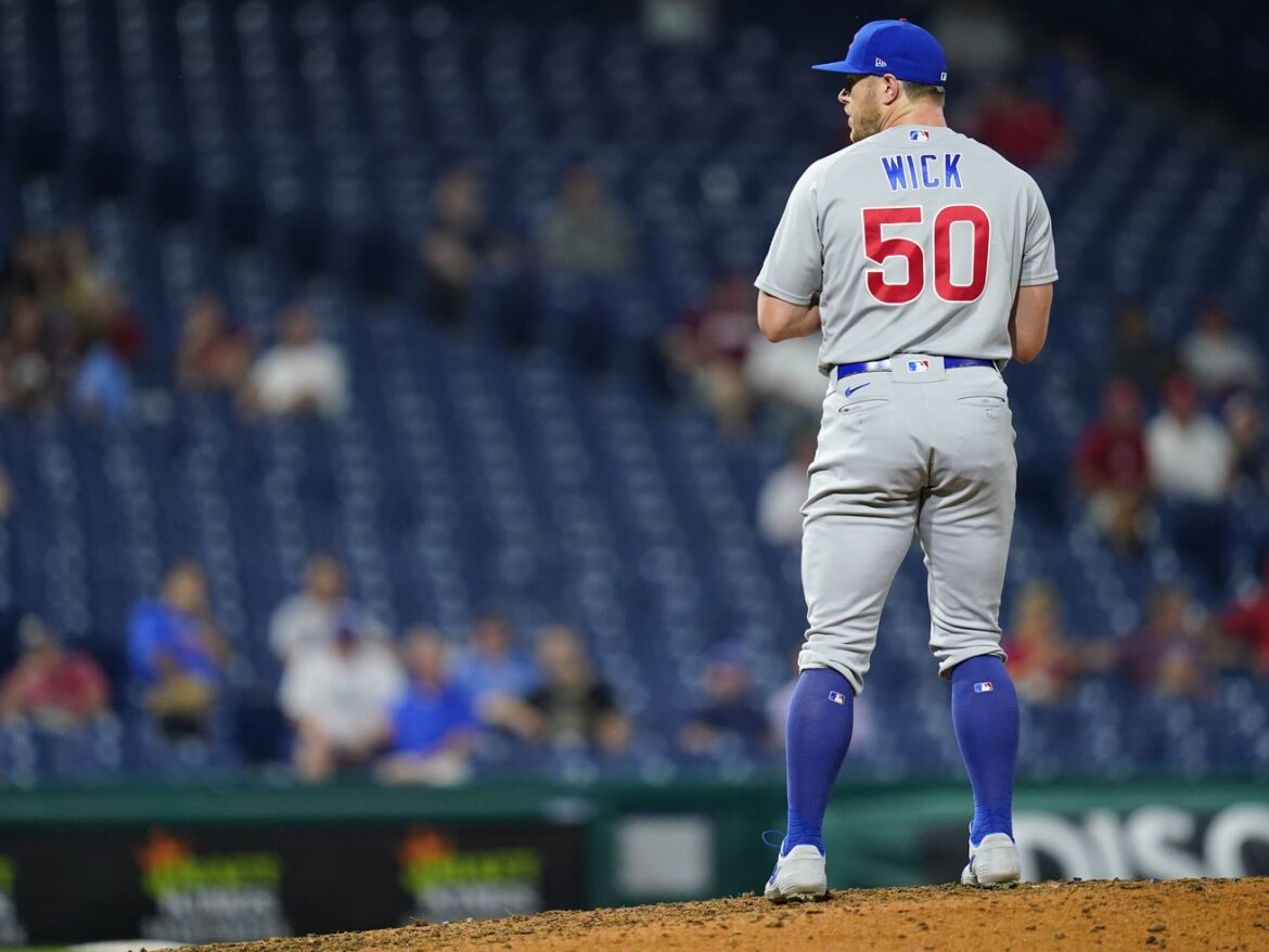 With oblique injury behind him, Cubs reliever Rowan Wick starting to show his full potential