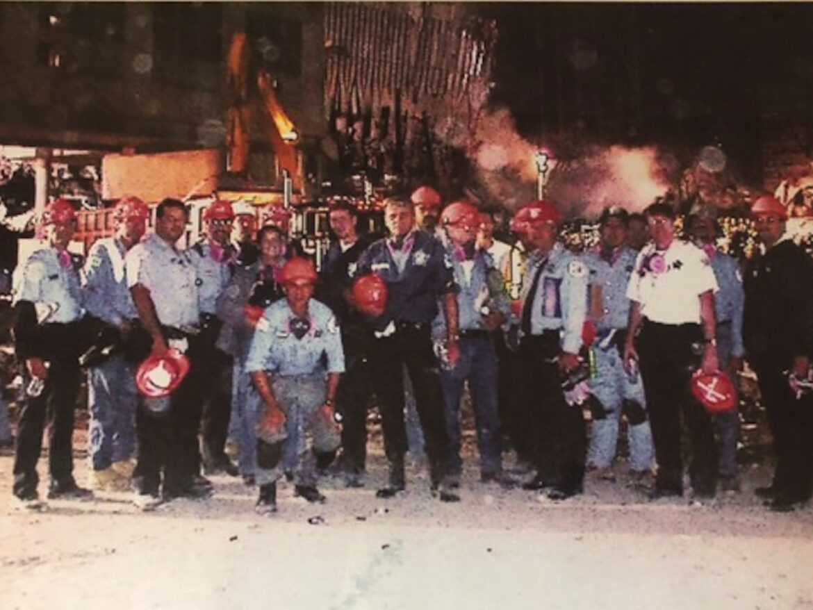 'Wouldn't have done anything different,' says one of a legion of Chicago firefighters, cops who went to NYC after 9/11 and now suffer