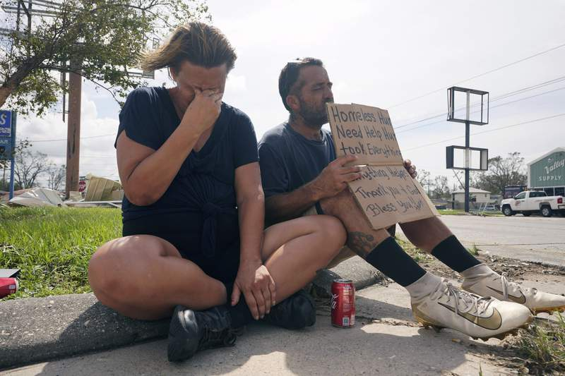 As Ida hit, homeless, other vulnerable people left behind