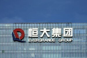 Another Chinese property developer defaults, shares drop