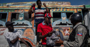 As Gangs' Power Grows, Haiti's Police Are Outgunned and Underpaid