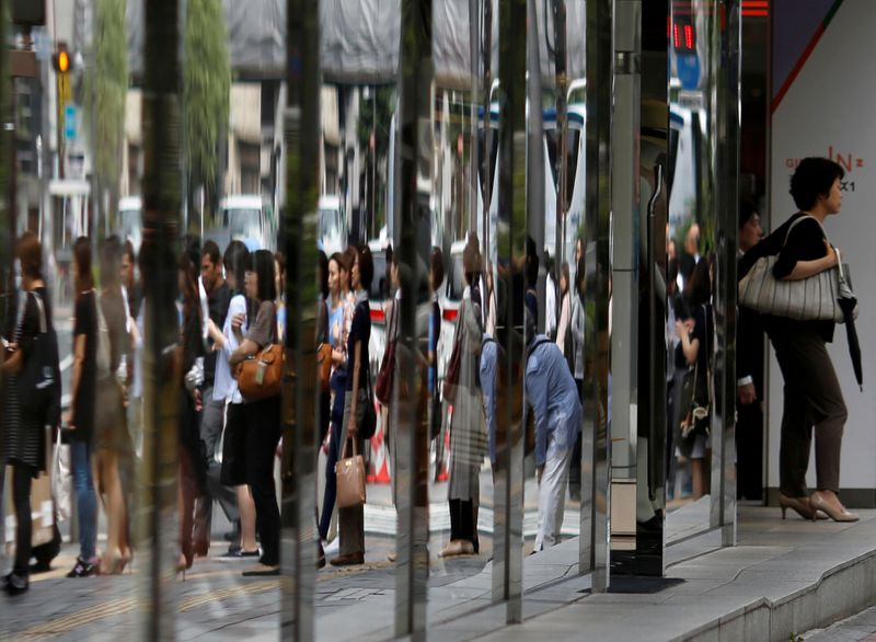 Japan household spending falls as COVID-19 curbs sap economic recovery