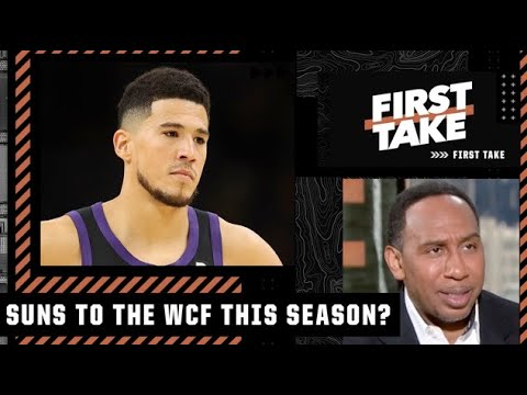Stephen A. doesn't see the Suns reaching the WCF this season | First Take