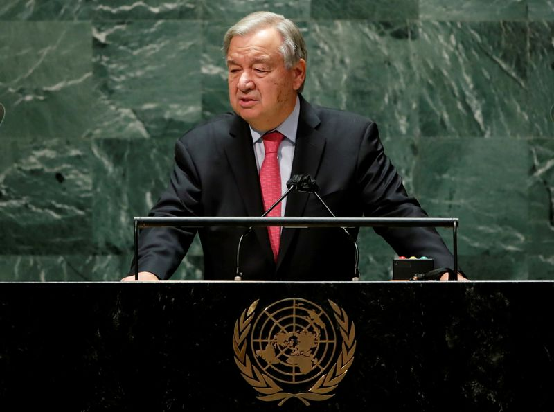 U.N. chief urges world leaders to clinch WTO fisheries deal, document shows