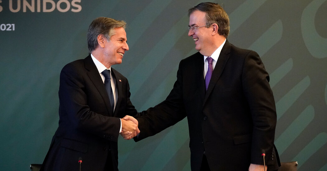 U.S. and Mexico Begin Talks on New Security Agreement
