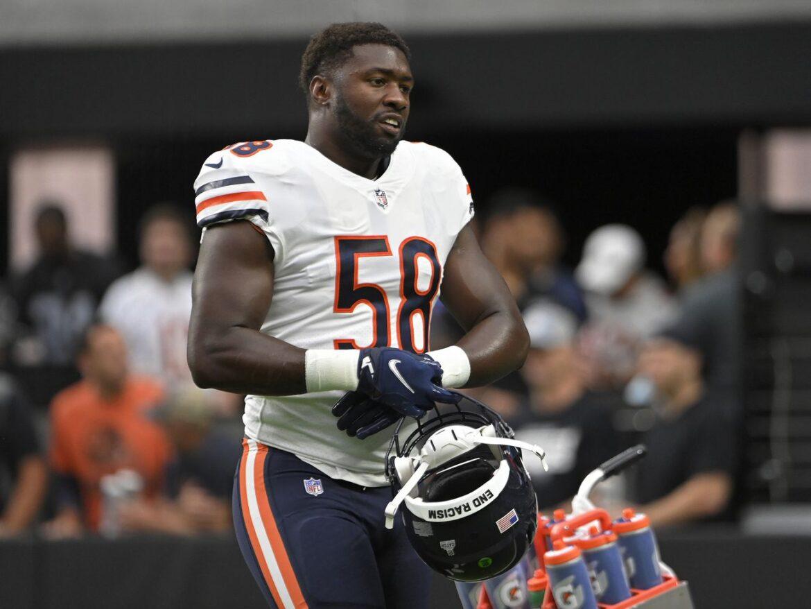Bears' Roquan Smith: Unnecessary roughness penalty was 'BS'