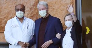 Bill Clinton released from hospital in Southern California