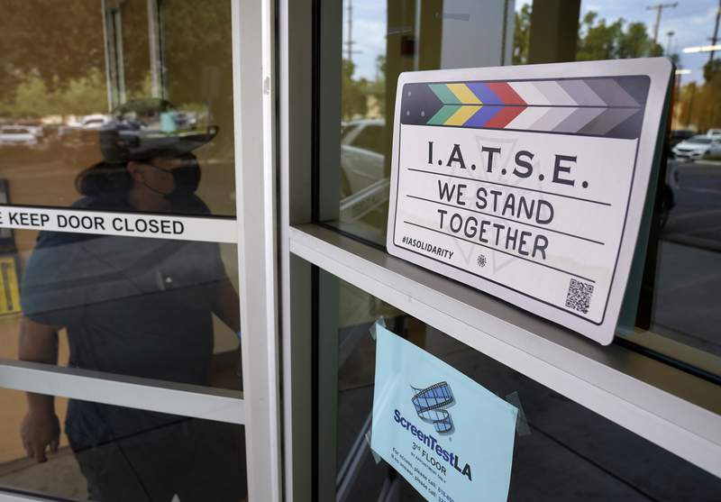 Hollywood's behind-the-scenes crews vote to authorize strike