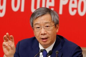 China faces challenges from 'mismanagement' at certain firms, says PBOC head