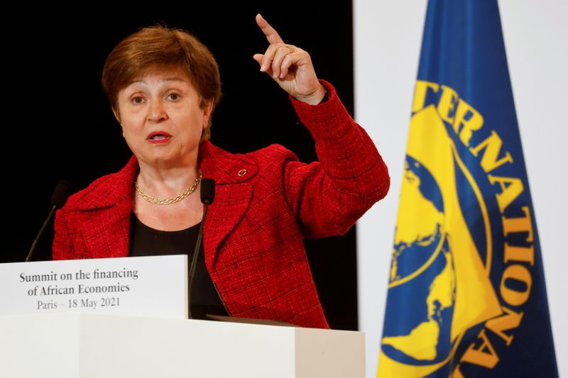 IMF says executive board expects to conclude Georgieva-World Bank review 'very soon'