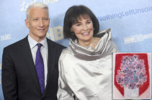 Anderson Cooper created fake online persona to sell his mom's artwork