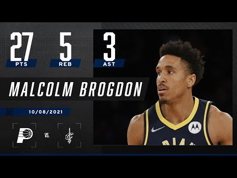 Malcolm Brogdon drops 27 in win over Cleveland Cavaliers