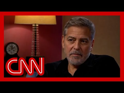 George Clooney compares Biden's struggles to 'battered child' after Trump presidency