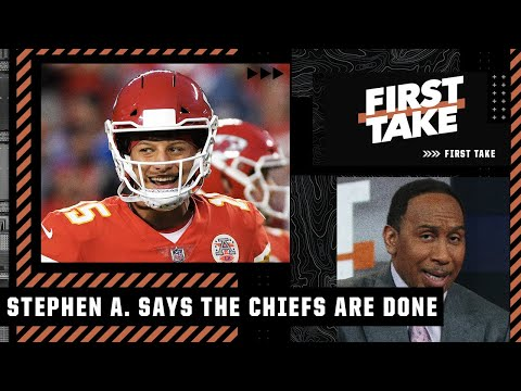 'Chiefs are DONE! Their defense is TRASH!' – Stephen A. after KC's loss to the Bills | First Take