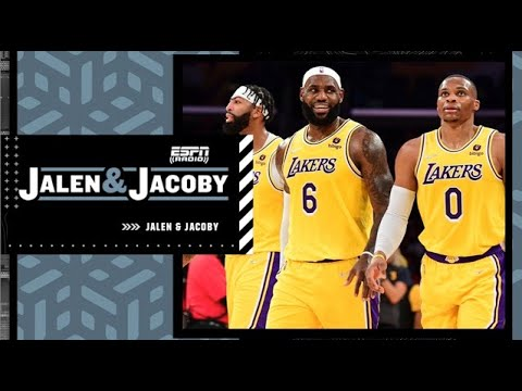 Jalen Rose reacts to LeBron saying the Lakers need time to fully come together   Jalen & Jacoby