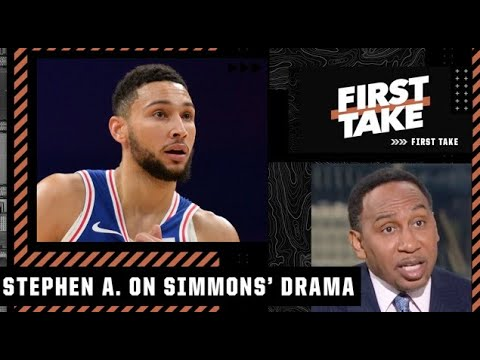 Ben Simmons has GOT TO GO! – Stephen A. on Simmons getting thrown out of practice | First Take