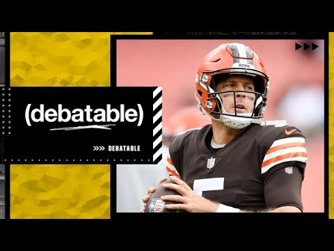 Could Baker Mayfield's job be in jeopardy if Case Keenum beats theBroncos? | (debatable)