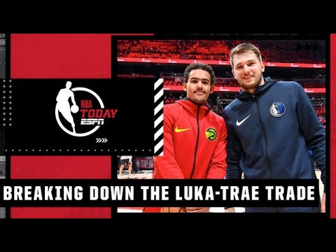 Revisiting the Luka Doncic-Trae Young trade in the 2018 NBA Draft | NBA Today