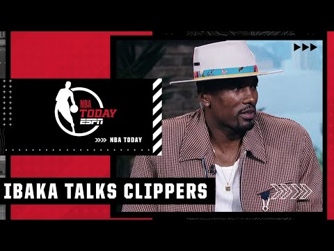 Serge Ibaka on the Clippers' expectations this season | NBA Today