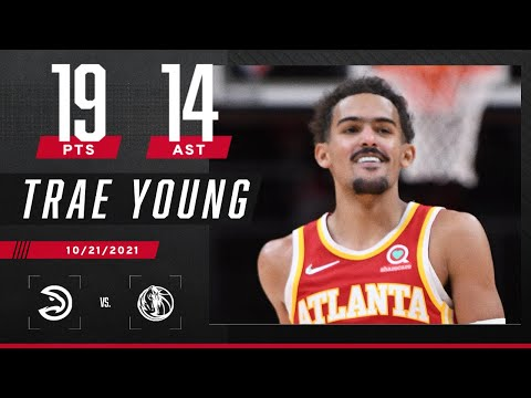 Trae Young puts up 19 PTS & 14 AST in HUGE blowout of Mavs 🔥