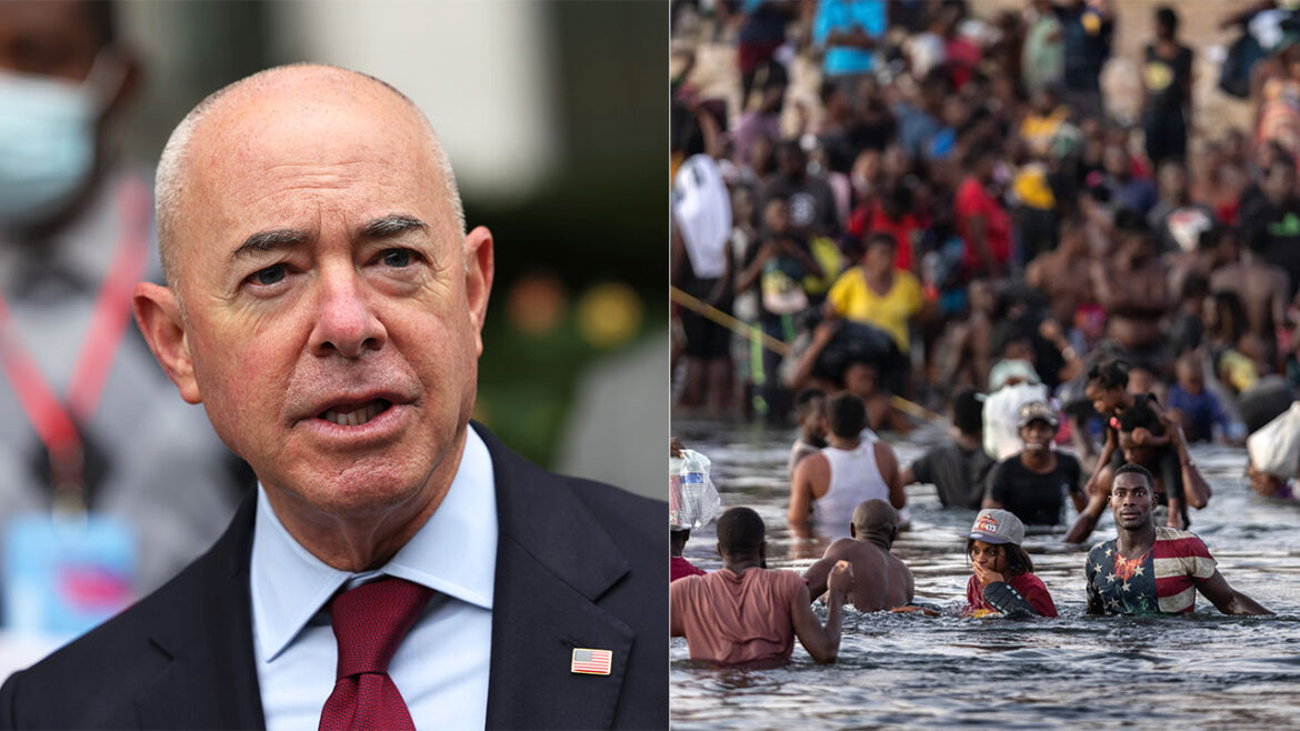 'Impeach Mayorkas': DHS chief cancels border wall contract during crisis, GOP calls him out