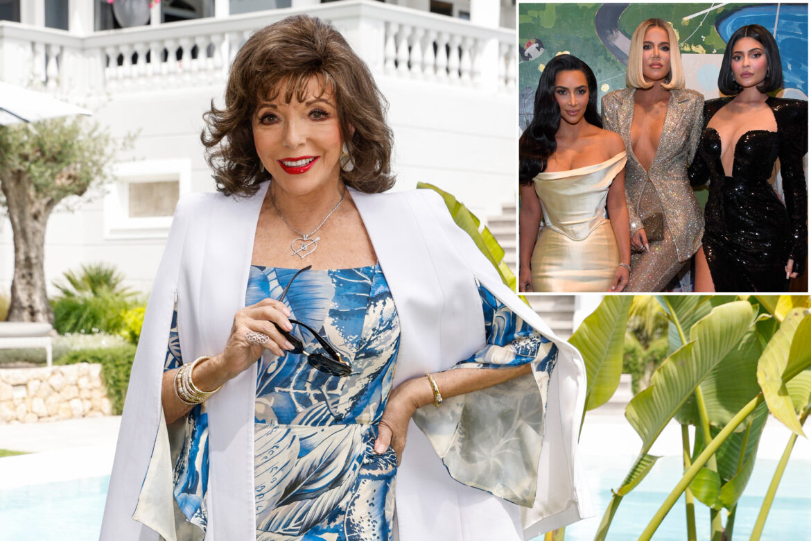 Joan Collins slams Kardashians: 'There's an awful lot of surgery there'
