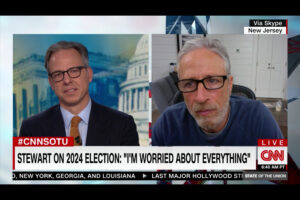 Jon Stewart Cautions: It's a 'Mistake' to Focus Only on Trump