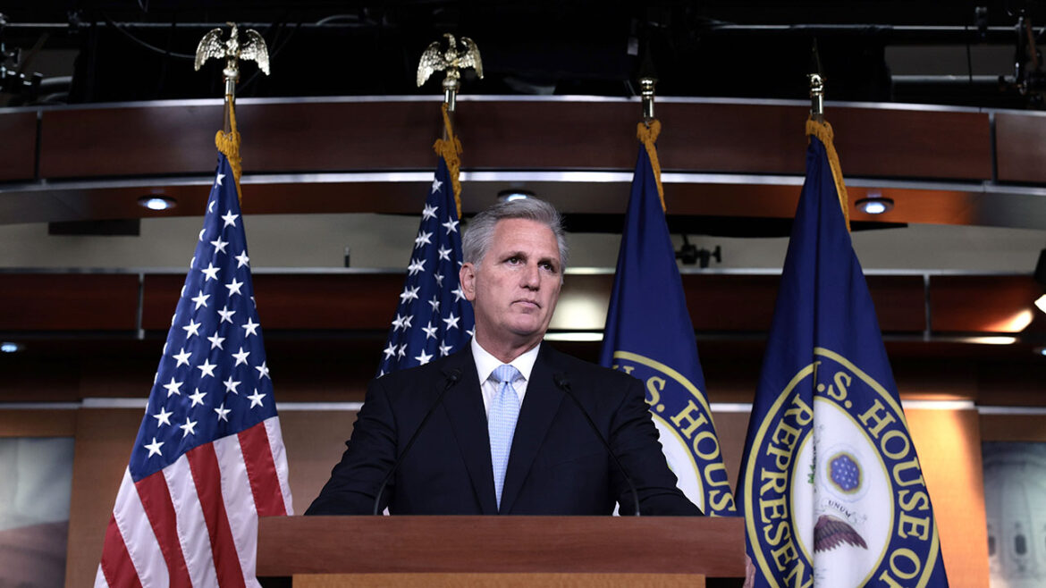 Kevin McCarthy accuses Democrats of seeking to 'silence parents'