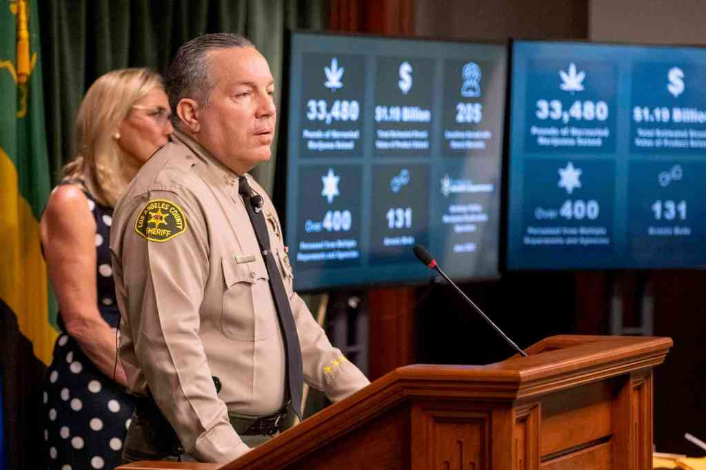 LA County Sheriff's Department gets $5 Million to shut down illegal grow operations, dispensaries