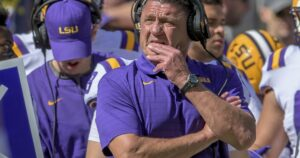 LSU, Ed Orgeron to part ways, less than two years after title