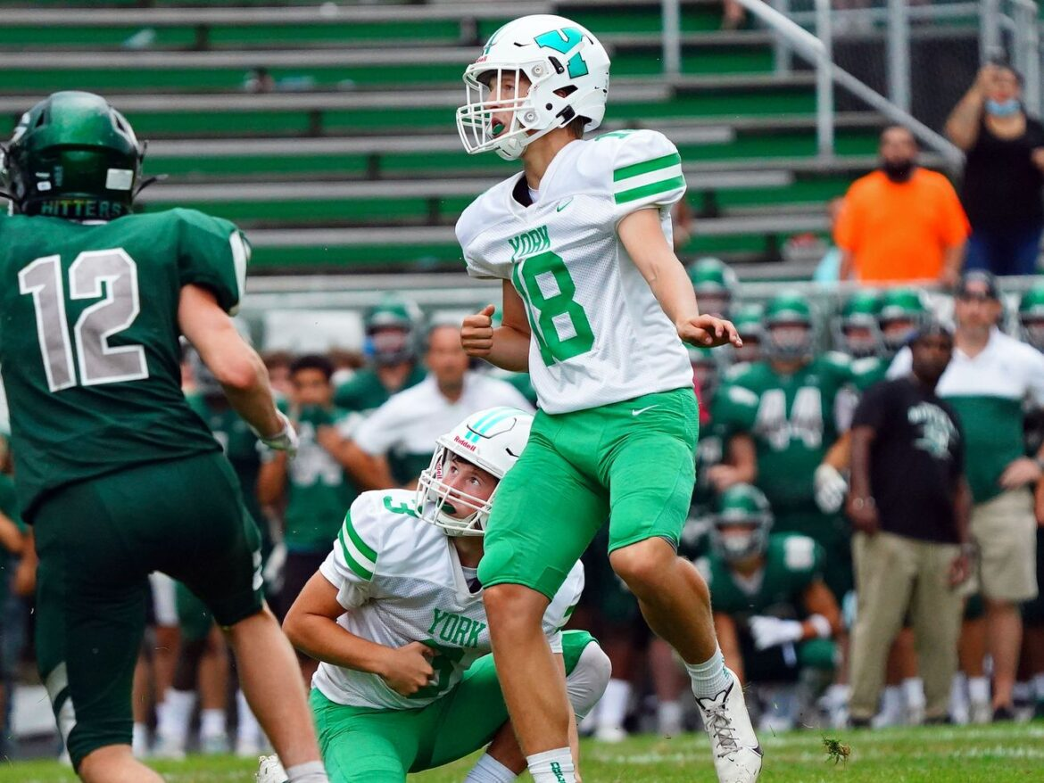 Max Hansmann's field goal gives York its first win against Glenbard West in 14 years