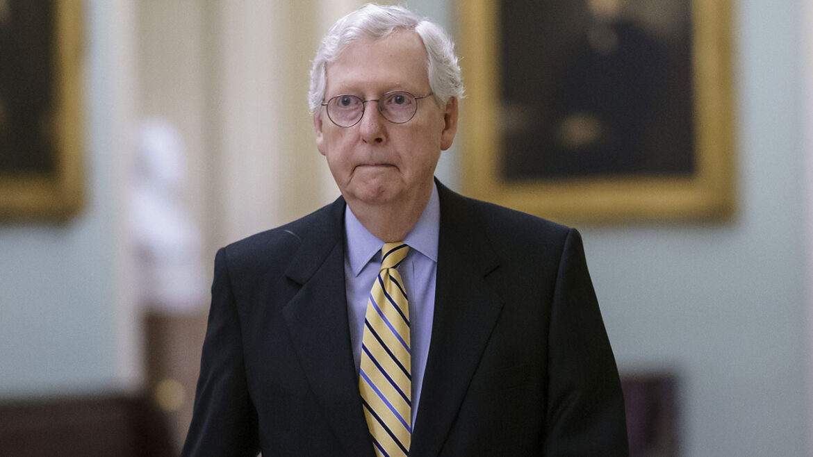 McConnell accuses Dem leaders of 'letting the radical left run Capitol Hill' after infrastructure bill stalls