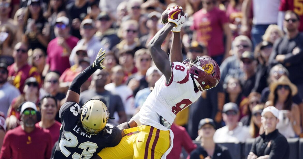 Michael Trigg's breakout performance for USC ignited by stunning TD catch